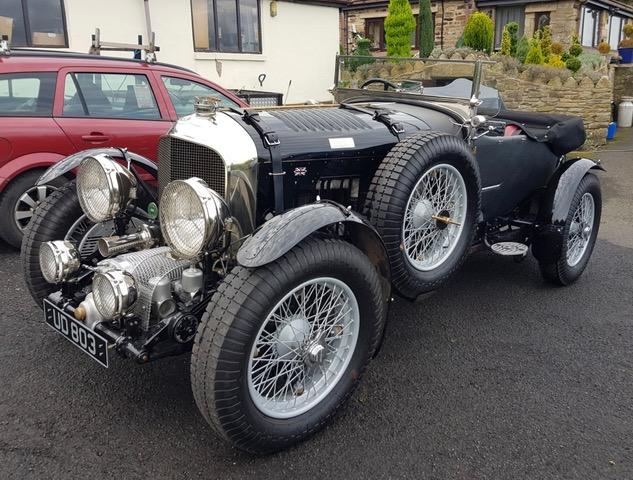 Supercharged W.O. Bentley